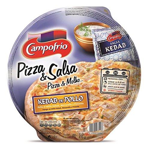 Campofrio Pizza y Salsa Kebab y Pollo - 410 gr: Amazon.es: Alimentación y bebidas