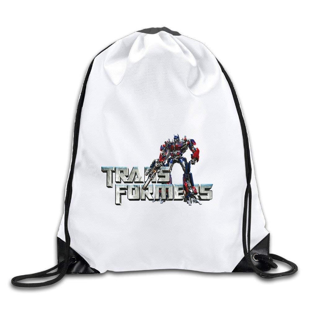 Transformers Polyester Drawstring Sac /à dos Sack Sac Home Travel Sport Storage Use