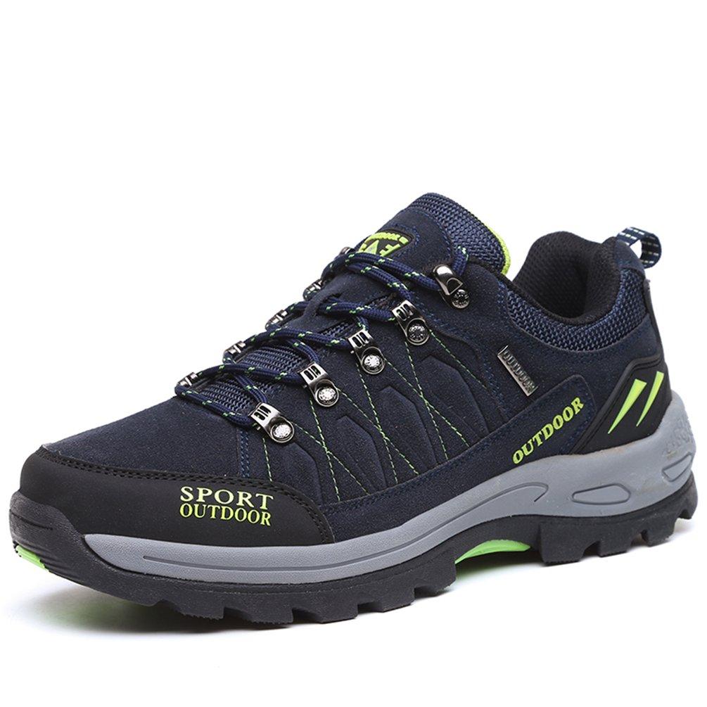 Rock Climbing Shoes Unisex Hiking Shoes Men Women Walking Sneaker Skid Proof Waterproof for Ourdoor Use-Blue-47 EU by Sherry Love (Image #1)