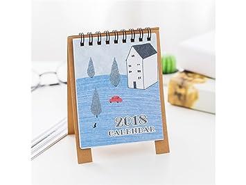 Lindo Buscando Calendario mensual de Escritorio de Dibujos ...