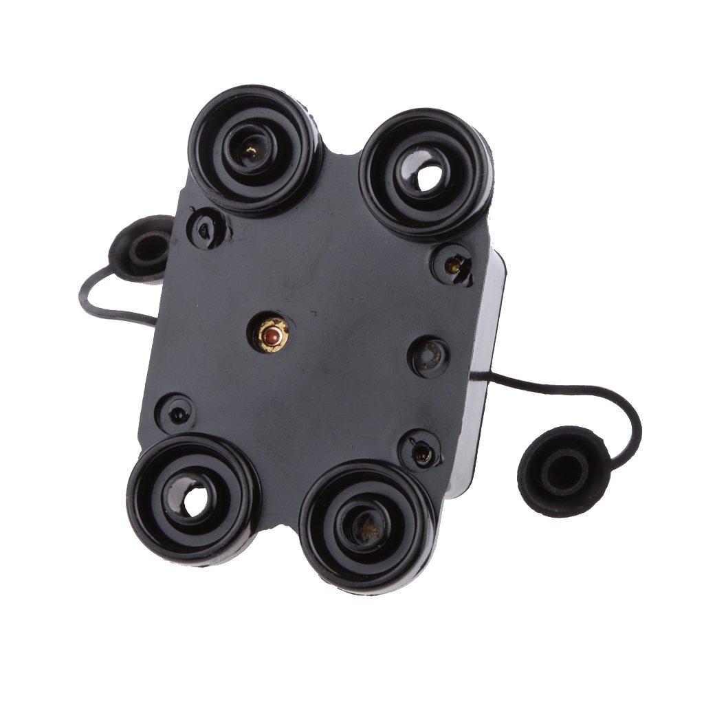 Elektrische Reparaturteil f/ür Autos und KFZ Dolity 1 Stk Ersatz 24V Inline Leistungsschalter // Schutzschalter Leistungsschalter 20A