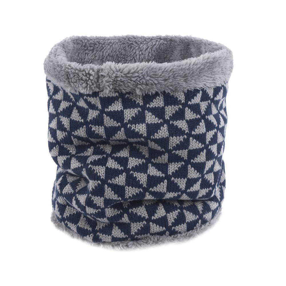 ShenPoutor_Women's Scarves ShenPr Infinity Scarf Harsh Winter Double-Layer Fleece Lined Thick Knit Neck Warmer Circle Scarf