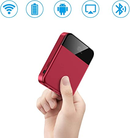Amazon.com: Mini proyector, proyector portátil de vídeo ...