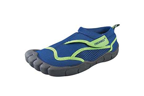 6f495b3dc Fresko Fresko Kids Water Shoes for Boys, B1350, Navy/Lime, 13 M US ...