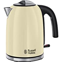 Russell Hobbs Colour Plus Kettle 20415, 3000 W, 1.7 Litre, Classic Cream