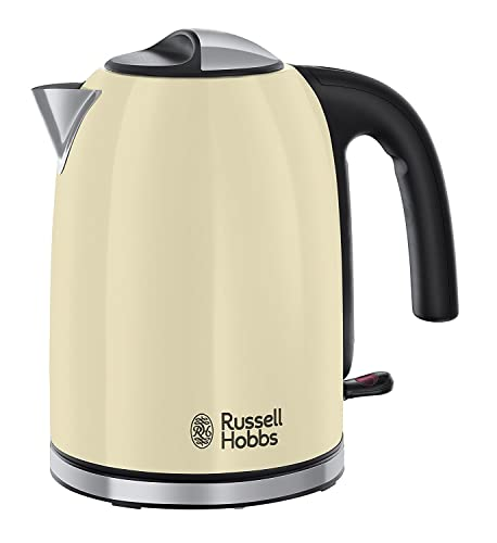 Russell Hobbs Colour Plus Kettle 20415, 3000 W, 1.7 L - Cream
