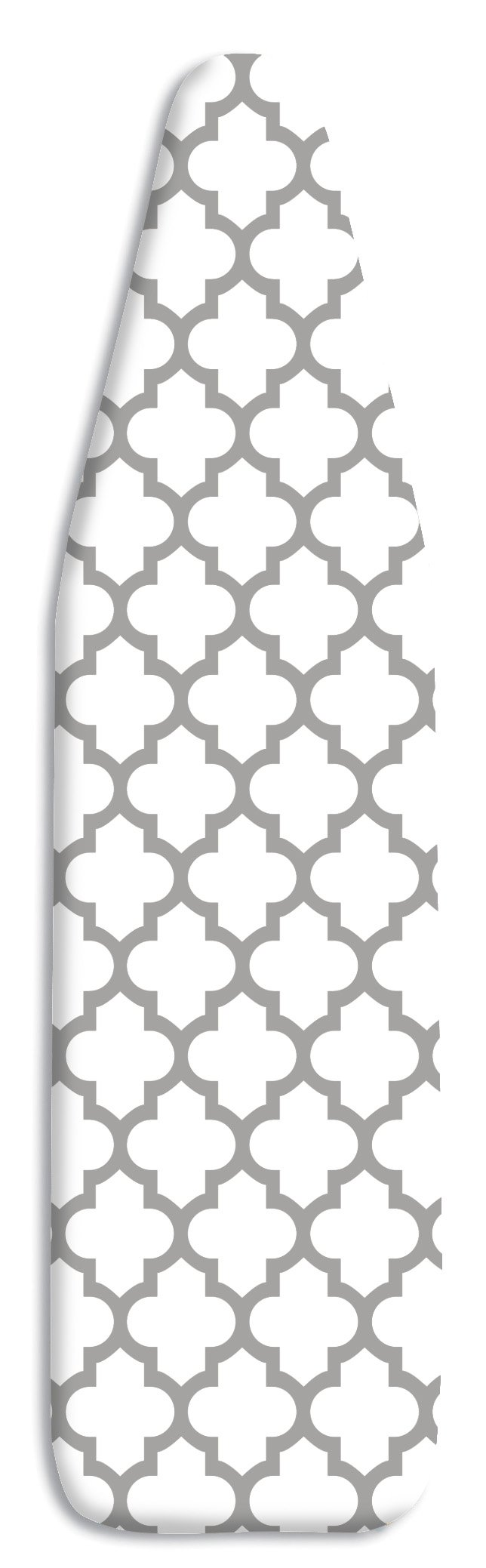 Whitmor Deluxe Ironing Board Cover and Pad - Medallion Gray by Whitmor