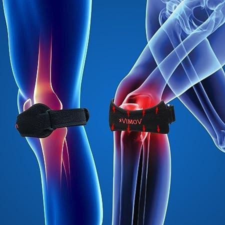 VIMOV Rodilla Protector (2 Pack) - Cinta Rotuliana para tendinitis ...