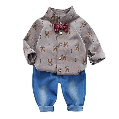 Amazon.com: Lurryly 2 piezas bebé recién nacido niños conejo ...