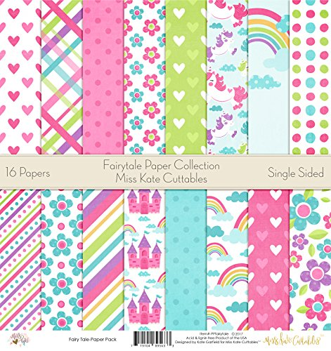 (Pattern Paper Pack - Fairytale - Scrapbook Card Stock Single-Sided 12