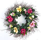 Southern Elegance All Weather Front Door Wreath