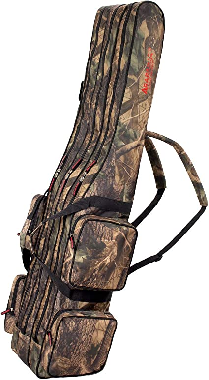 EBTOOLS Rutentasche mit Griffen Angeln Tasche Angelrutentasche Lure Rod Aufbewahrung Reisetasche Karpfenstange Paket Angelzubeh/ör f/ür 3 S/ätze Angelruten