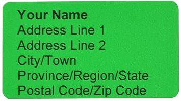 meta label 480 pcs personalized return address labels basic style