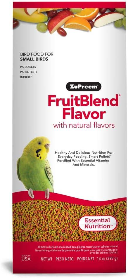 Zupreem Fruitblend Small Keet Food, 14-Ounce