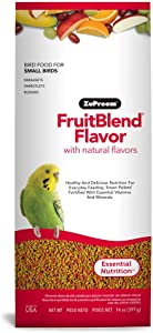 Zupreem Fruitblend Small Keet Food, 14-Ounce