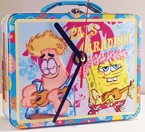 Sponge Bob Lunch Box Clock - Spongebob Frankenstein