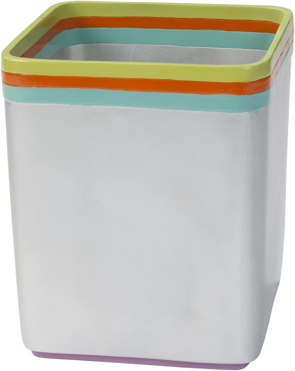 Creative Bath Products JAZ54MULT Jazz Waste Basket, Orange