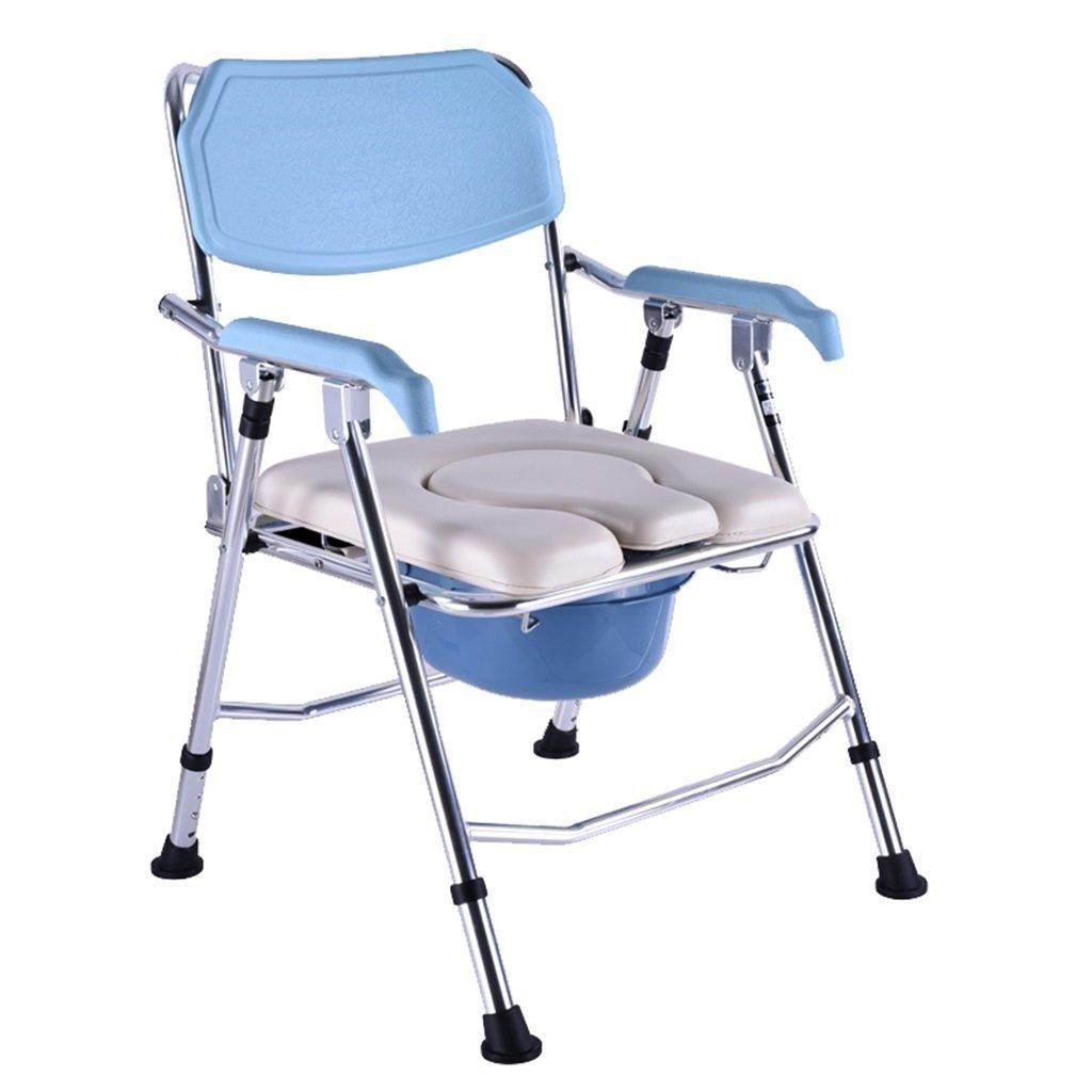 最安値で  ポータブル妊娠高齢者の女性の椅子の椅子頑丈で耐久性のあるトイレシート障害者のトイレの椅子の上の滑り止め手すりバケツMax.200kgのバスルームシャワースツール   B07F745B94, 株式会社ヒロチー商事:0cde8a92 --- eastcoastaudiovisual.com
