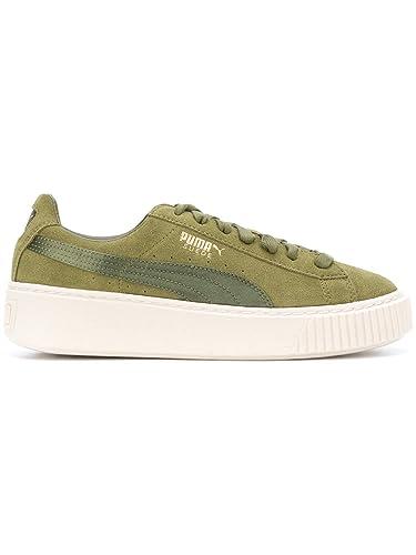 puma mujer verde zapatillas
