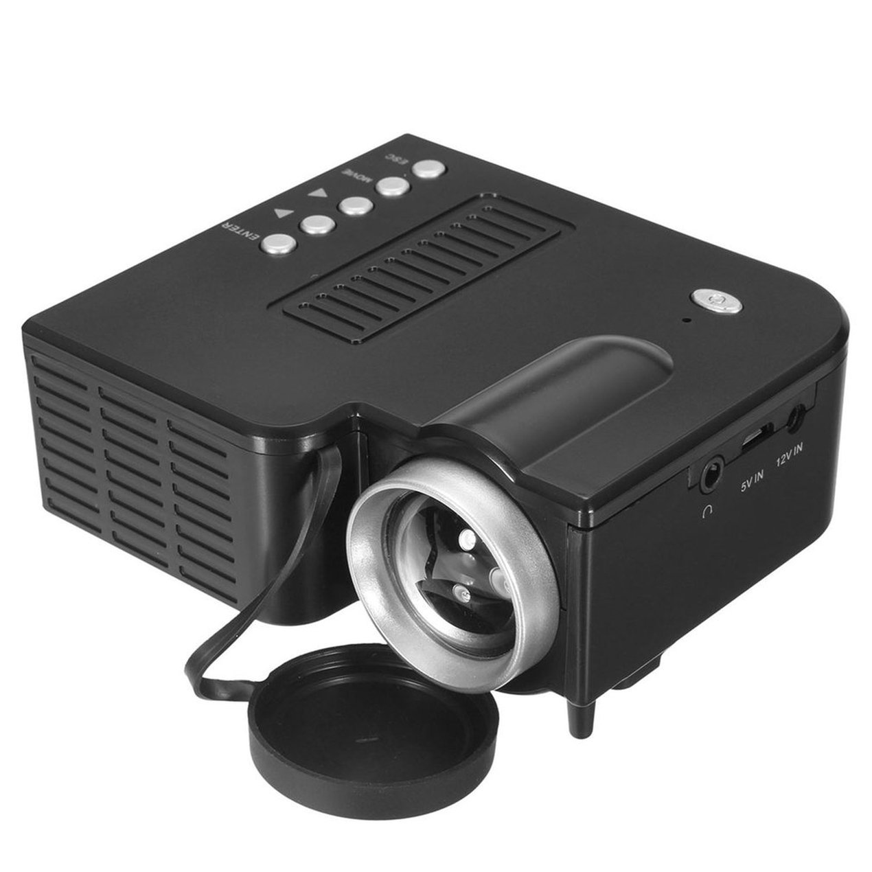 Mini Proyector LED 1080P Multimedia Familia Cine Portátil Home ...