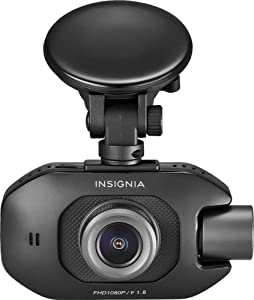 Insignia - Front and Rear Camera Dash Cam - Black