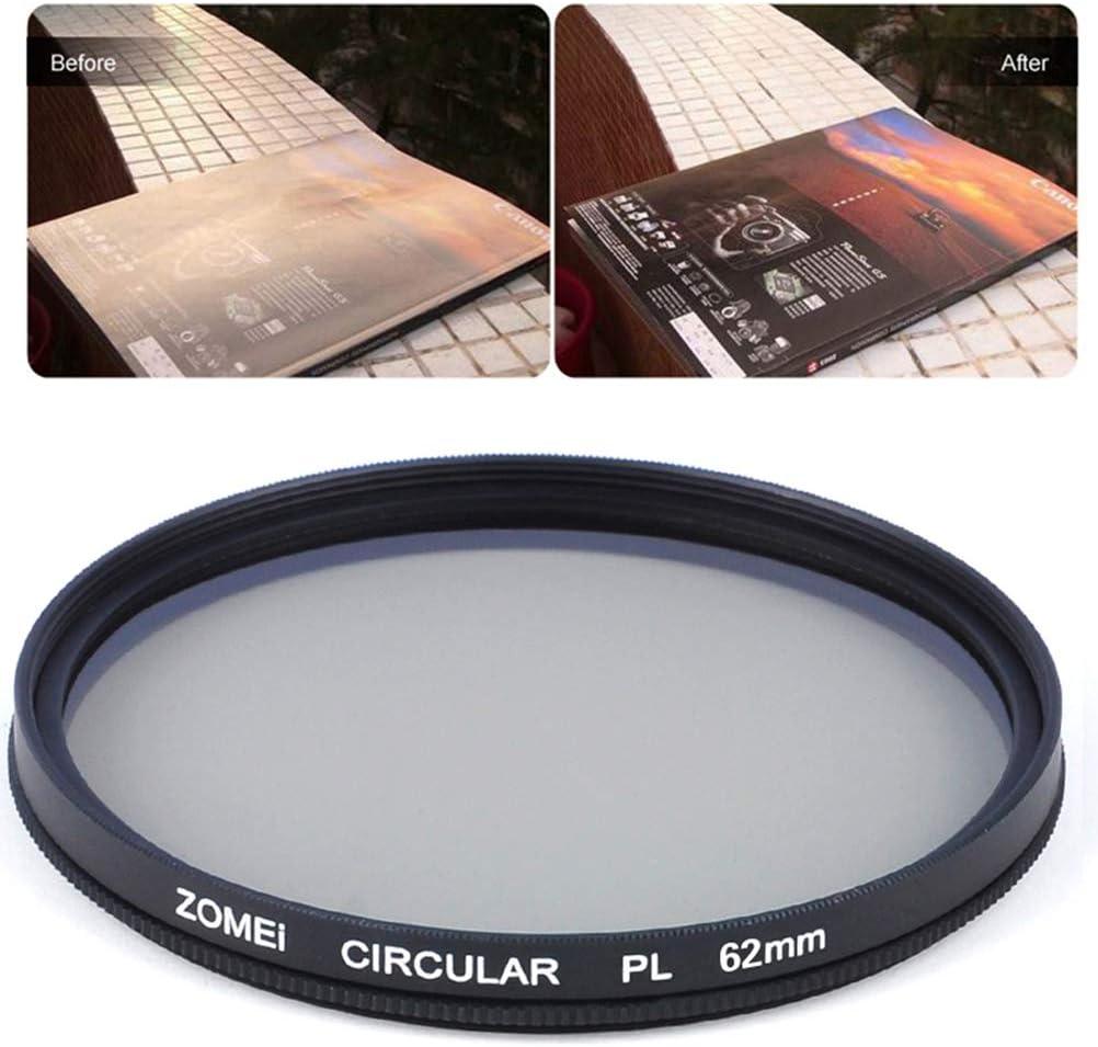 55mm CPL Circular Polarizer Camera Filter Optical Glass for DSLR Camera Lens