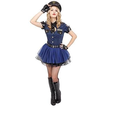 Amazon.com: Club Queen disfraz de policía – -XS/S Tamaño de ...