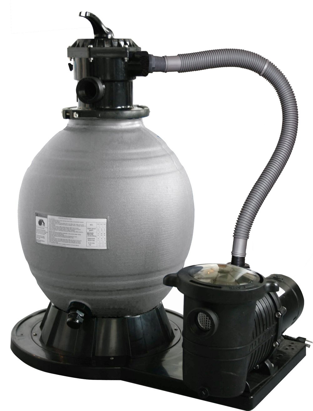 Blue Wave 22-Inch Sand Filter System with 1-1/2 HP Pump for Above Ground Pools by Blue Wave