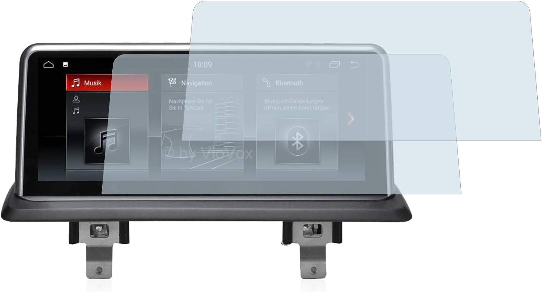 brotect 2-Pack Screen Protector Anti-Glare compatible with BMW 1 E82 2004-2013 VioVox 8251 10.25 Screen Protector Matte Anti-Fingerprint
