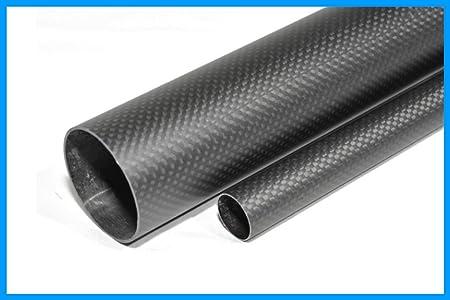 OD 8mm x ID 6mm x 1000mm pipe 3k Carbon Fiber tube Matt Surface Tubing 1m shaft