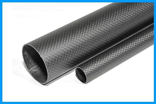 1 Piece Abester 3K Carbon Fiber Tube ID 26mm x OD 30mm x 1000mm Matt Surface for Landing Gear