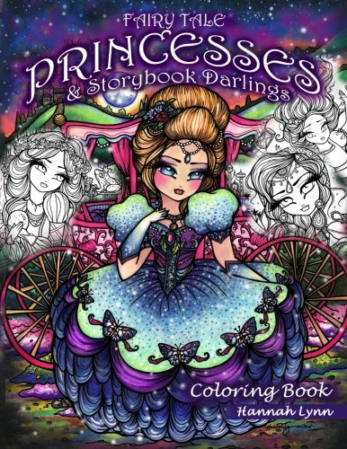 Fairy Tale Princesses & Storybook Darlings Coloring -