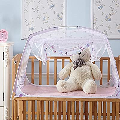 RuiHome Baby Crib Tent Safety Net Portable Summer Beach Playpen for Toddler