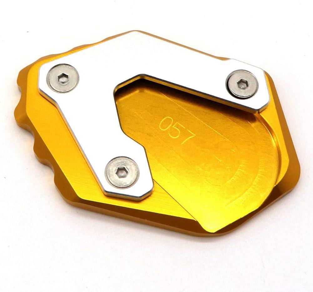 Motorrad St/änder Aluminium Seitenst/änder Platte Erweiterung Vergr/ö/ßern Pad f/ür R1250GS