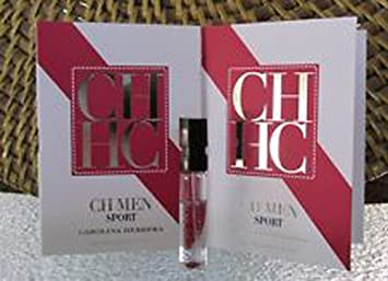 Amazon.com: Ch Men Sport by: Carolina Herrera de .05 oz EDT ...