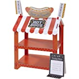 Hotdog & Popcorn Stand Street Stall With 12 Paper Bags