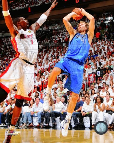 Dirk Nowitzki - Game 6 of the 2011 NBA Finals - 8x10 Photo by Yves