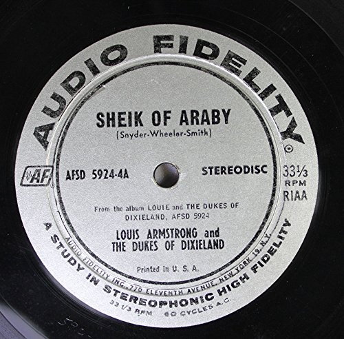 Louis Armstrong - Louis Armstrong And The Dukes Of Dixieland 45 Rpm Sheik Of Abraby  Wolverine Blues - Zortam Music