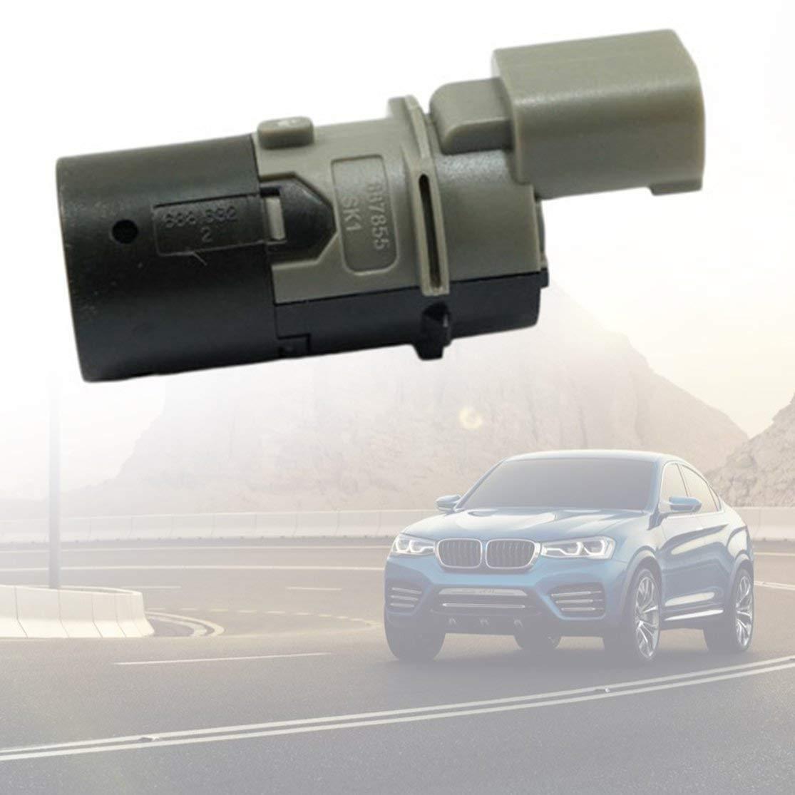 PDC Sensor de Aparcamiento Asistencia de Marcha atr/ás para BMW E39 E46 E60 E61 E65 E66 E3 X3 X5 Sensor de Radar Accesorio para autom/óvil Color: Negro