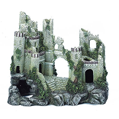 Caldex Classic Character Ancient Castle Ruin Building (One Size) (Multicolored)