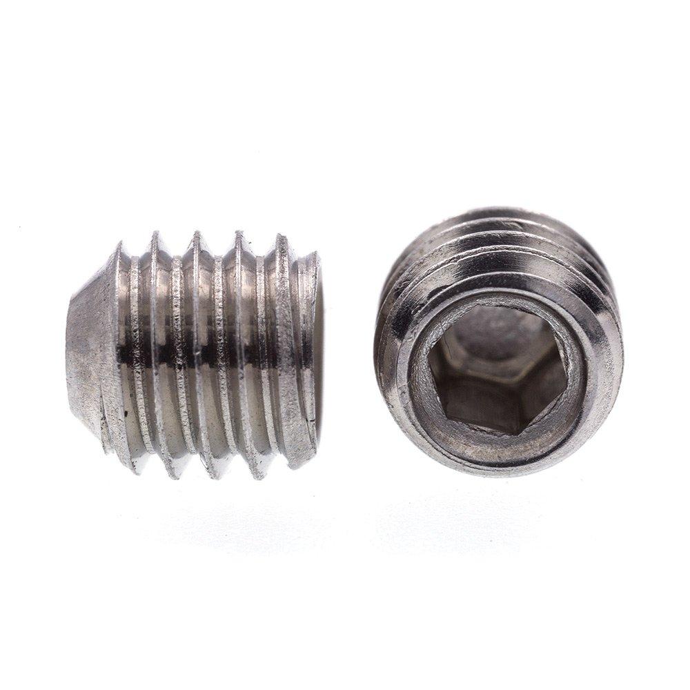 25-Pack Prime-Line Products Prime-Line 9183663 Socket Set Screws 1//4 in-20 X 5//16 in Black Oxide Coated Steel