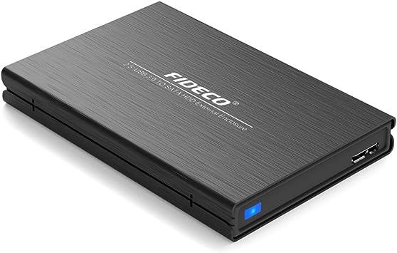 FIDECO Carcasa para Discos Duros, Carcasa Externa USB 3.0 para ...