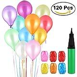 Vegena 120 Globos de Fiesta de Colores Diversos ,Globos de Látex de Primera Calidad decoración