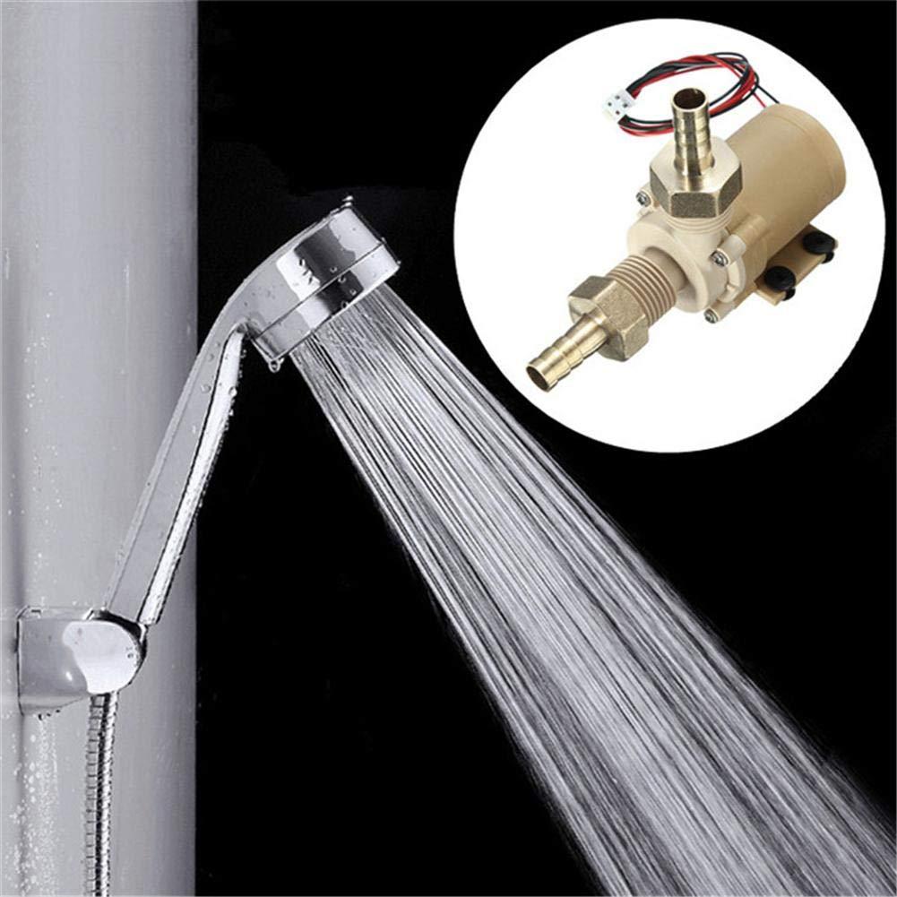 yummyfood 12V 6W B/ürstenlose DC Wasserpumpe K/ühl//Hei/ß Wasser Mini Wasserpumpe Tauchpumpe Solar Wasser Warmwasser Umw/älzpumpe Ger/äuscharm Hochtemperaturbest/ändig