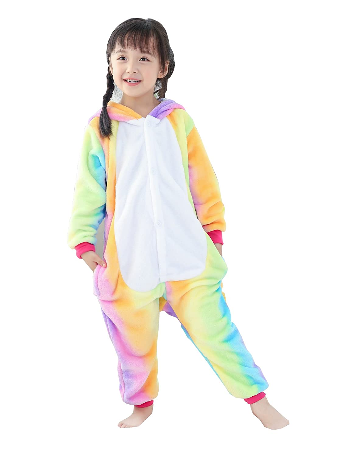 Tricandide Children Halloween Pajamas Animal Costumes Cosplay Sleepwear Onesie TR20171013-KSY