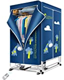 KASYDoFF Clothes Dryer Portable 1500W-1.7 Meters 3-Tier Foldable Clothes Drying Rack Energy Saving (Anion) Clothing…