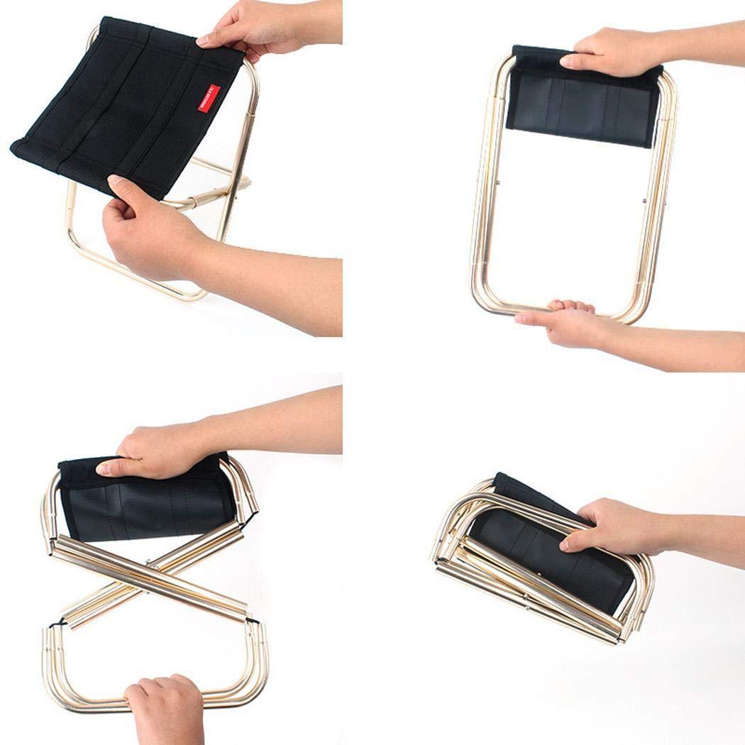 Baorin Durable Practical Portable Outdoor Sports Camping Camping Folding Chair Stools