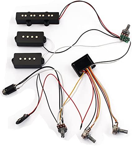 Amazon.com: Loaded Wiring Harness Potentiometer 3 Band AMP EQ Preamp  Equalizer Pickup for JB PB Bass Guitar Replacement Parts: Musical  Instruments | Bass Guitar Wiring Harness |  | Amazon.com