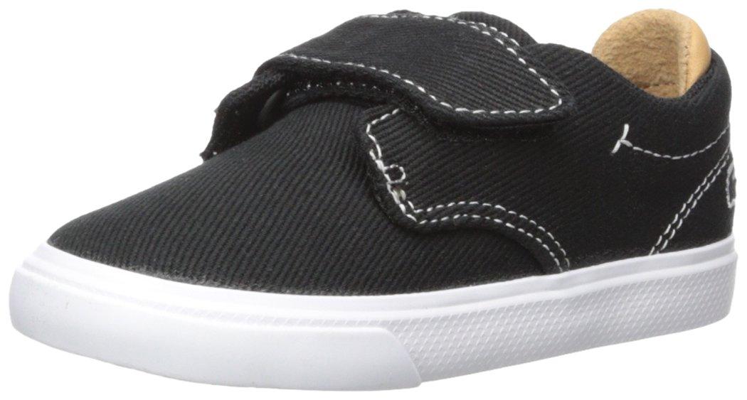 Lacoste Baby Esparre Sneaker, Black Canvas, 9. M US