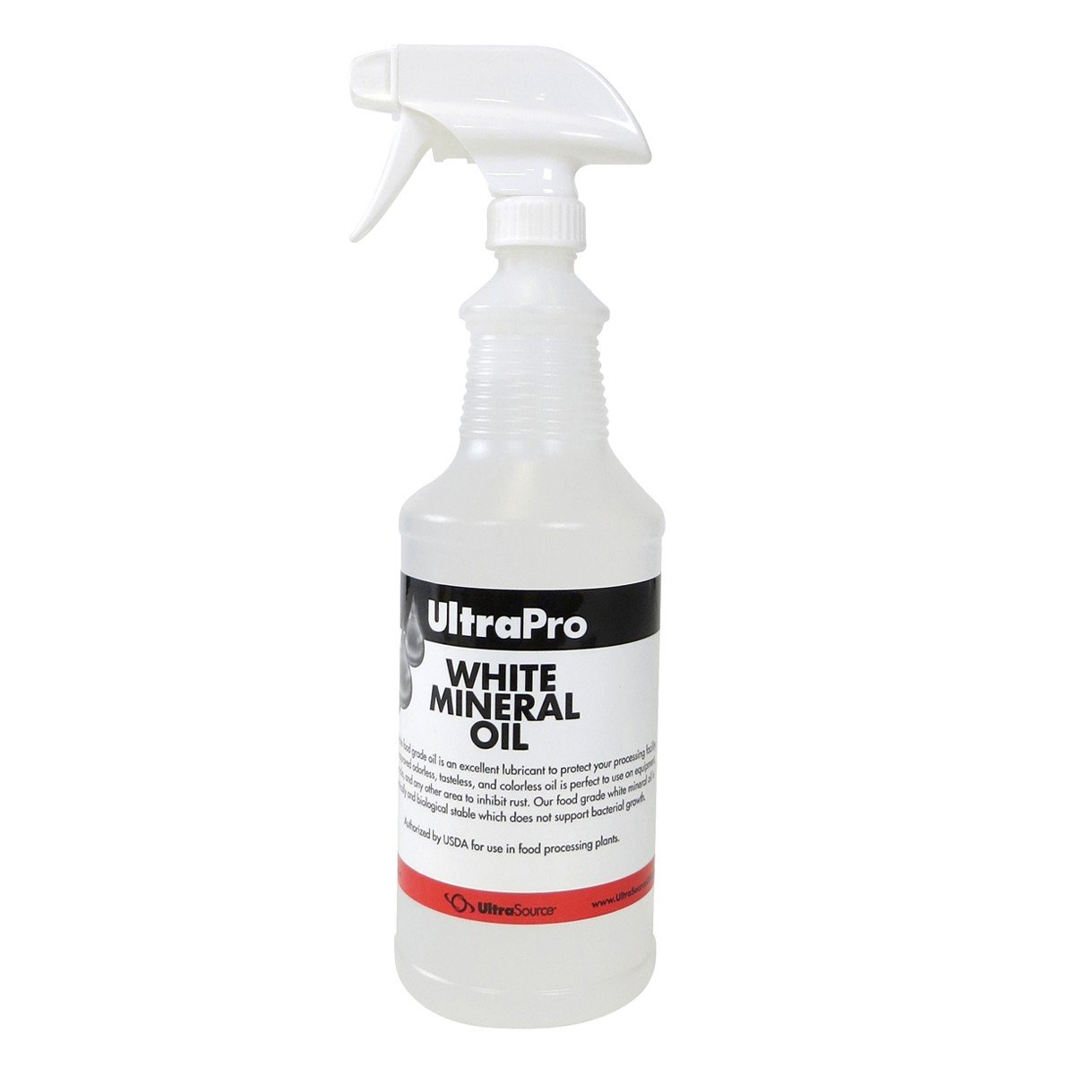 32 oz. Spray Bottle - Food Grade Mineral Oil for Stainless Steel, Cutting Boards and Butcher Blocks, NSF